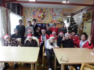 GHクリスマス家族交流忘年会「たくさん来てくれて楽しかったよ」