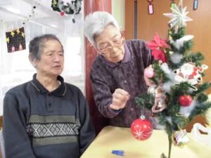 GHクリスマス飾り「楽しみね」