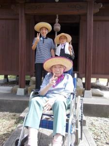 GH散歩「島潟の神社まできました!」