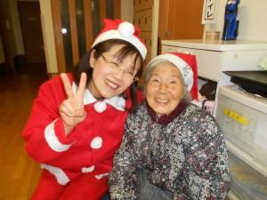 SKクリスマス会「サンタさんと記念撮影!」