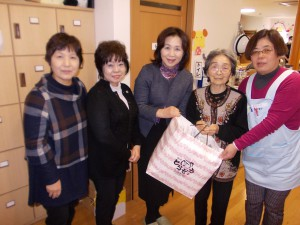 SK寄付下田商工会女性部「いつもありがとうございます」