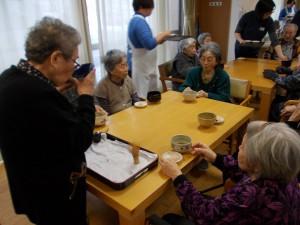 SK茶話会「抹茶のお味はいかがですか♪」