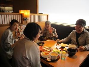 新潟空港 昼食