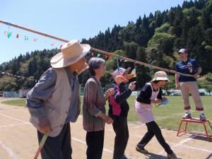 大浦小学校運動会「なかなか難しいぞ!」