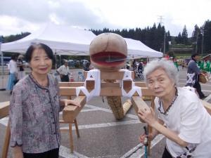下田ふるさと祭り「立派な大蛇ですね~」