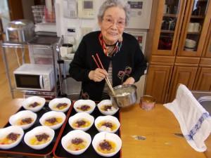 LCお菓子作り「美味しそうに盛り付けていただきました」