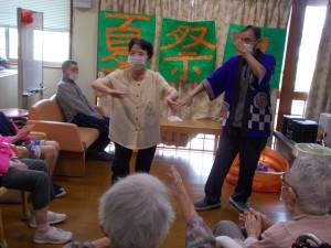 GH納涼会「下田の盆踊りだよ」