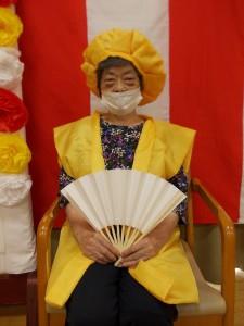 LC敬老会「米寿のお祝いです」